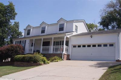 North Little Rock Single Family Home Price Change: 1904 North Hills Court
