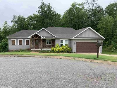 Benton Single Family Home Price Change: 9025 Diamond Ridge Road