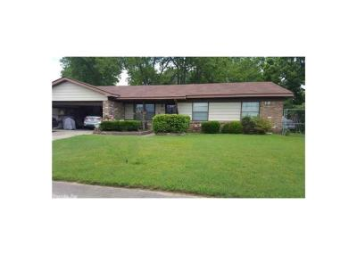 Pine Bluff Single Family Home For Sale: 2007 Lucia Lane
