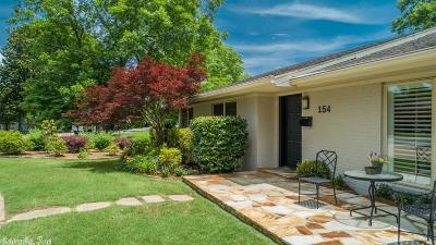 Little Rock Single Family Home Price Change: 154 Ridge Road