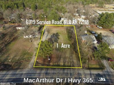 North Little Rock Residential Lots & Land For Sale: 6919 Service Road