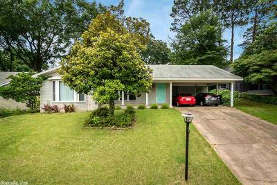 Little Rock AR Single Family Home Price Change: $188,500