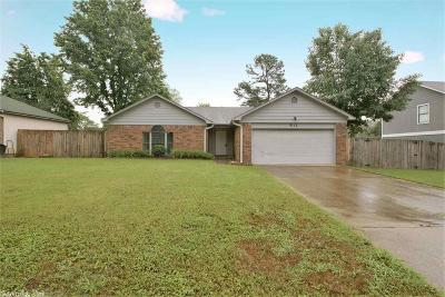 Bryant Single Family Home For Sale: 911 Greenvalley Drive