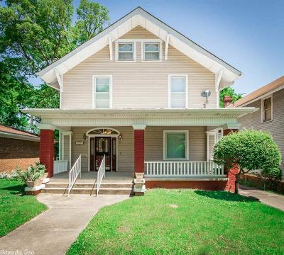 Little Rock Single Family Home New Listing: 1704 W 19th Street