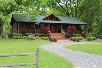 Cleburne County Single Family Home New Listing: 55 Riverwood