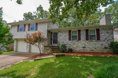 North Little Rock Single Family Home New Listing: 1816 Osceola Drive
