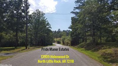 North Little Rock Residential Lots & Land New Listing: 13909 Helenwood Drive