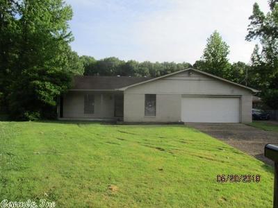 Little Rock Single Family Home New Listing: 8608 Edwina Drive