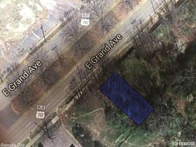 Garland County Commercial New Listing: XXXC E Grand Ave