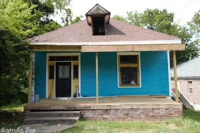Little Rock Single Family Home New Listing: 1020 W 21st Street