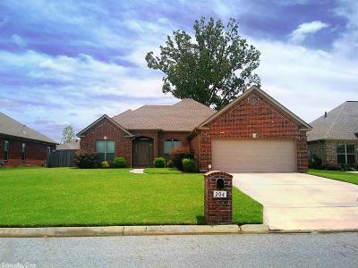 Maumelle Single Family Home New Listing: 204 Marie Jeanne Drive