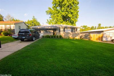North Little Rock Single Family Home New Listing: 16 Oakview Drive