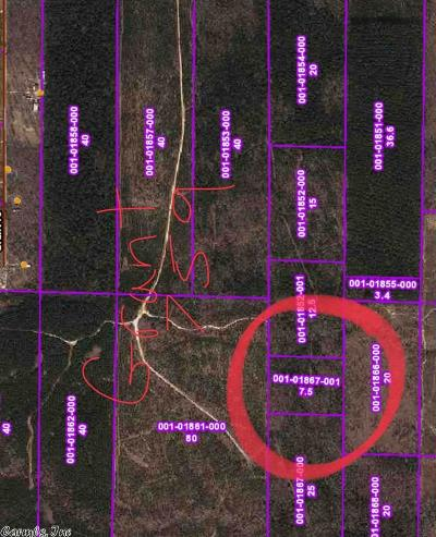 Grant County, Saline County Residential Lots & Land For Sale: Grant 759
