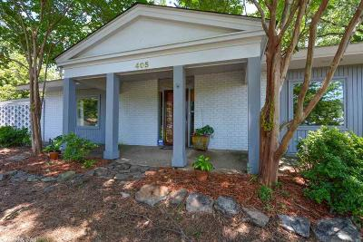 Little Rock Single Family Home New Listing: 405 N McAdoo Street