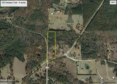 Residential Lots & Land New Listing: 102 Owasso Trail