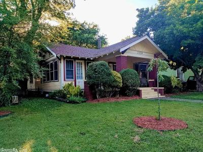 Little Rock Single Family Home New Listing: 2320 S Arch Street