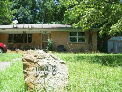 Hot Springs Single Family Home New Listing: 108 Holly Street
