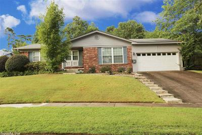 Little Rock Single Family Home New Listing: 7800 Evergreen Drive