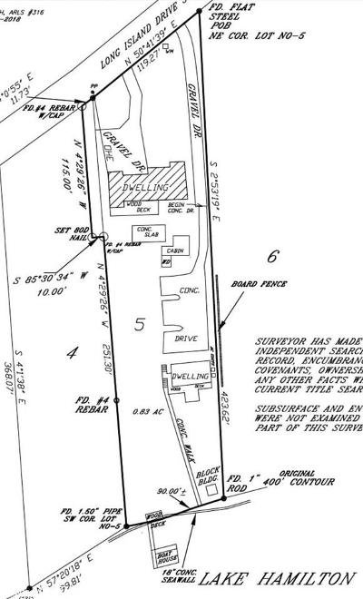 Garland County Residential Lots & Land New Listing: 400 Long Island Drive