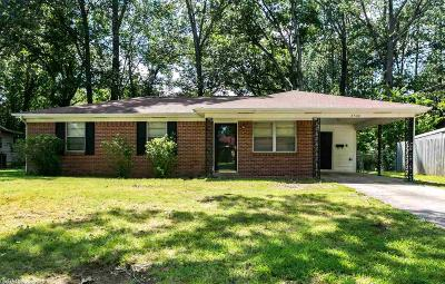 Little Rock AR Single Family Home New Listing: $87,000