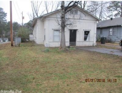 Little Rock Single Family Home New Listing: 3124 Elam Street