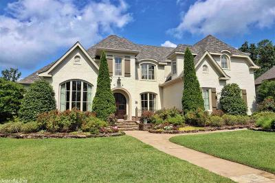 Little Rock Single Family Home For Sale: 106 Deauville Drive