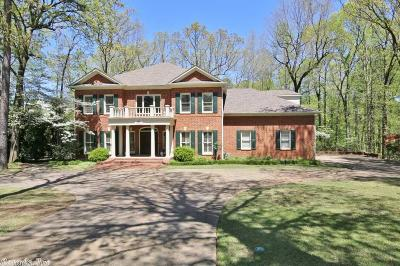Little Rock Single Family Home For Sale: 44 Fontenay Circle