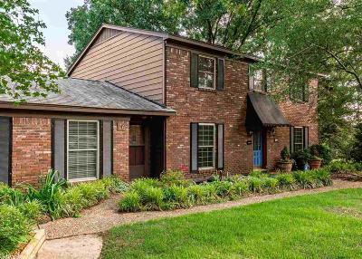 North Little Rock Single Family Home Price Change: 26 Desoto Circle