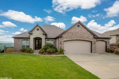 Maumelle Single Family Home Price Change: 12 Crestview Court