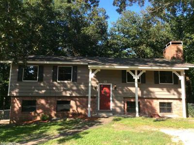 Pulaski County, Saline County Single Family Home For Sale: 12 Bryan Keith Court