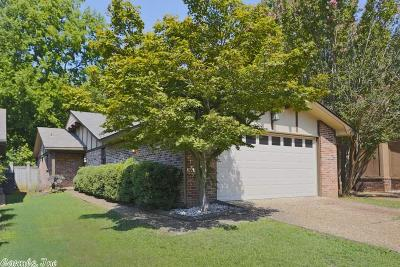 Little Rock Single Family Home New Listing: 1402 Pickering Drive