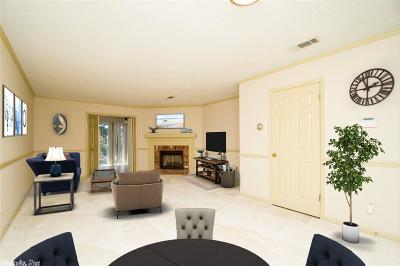 Little Rock Condo/Townhouse New Listing: 20 Towne Park Court #6, 20 To