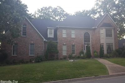 Little Rock Single Family Home New Listing: 2 Cherry Creek Drive