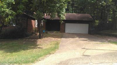 Little Rock Single Family Home New Listing: 11120 Hickory Hill Rd
