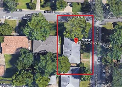 Residential Lots & Land Take Backups: 2824 N University