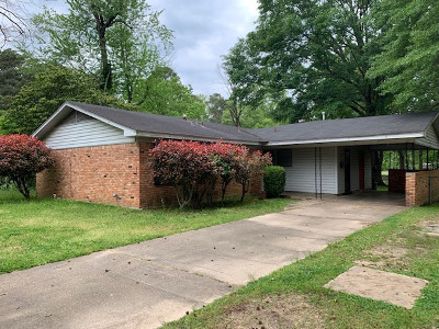 Crossett AR Single Family Home For Sale: $58,000