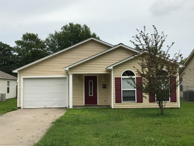 Stuttgart AR Single Family Home For Sale: $125,000