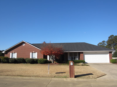 Magnolia Single Family Home For Sale: 1819 Hillcrest