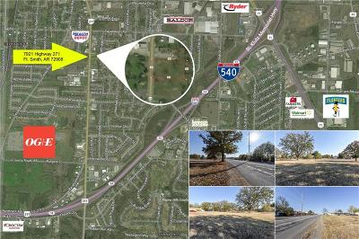 Fort Smith Residential Lots & Land For Sale: 7921 Highway 271