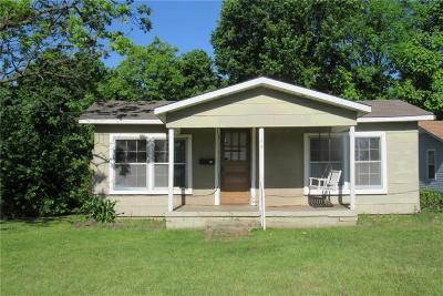 Van Buren Single Family Home For Sale: 108 S 25th ST