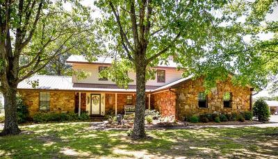 Muldrow Single Family Home For Sale: 103264 State Hwy 64B Mu 64B HWY