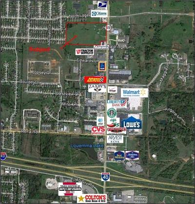 Van Buren Residential Lots & Land For Sale: 2615 Fayetteville RD