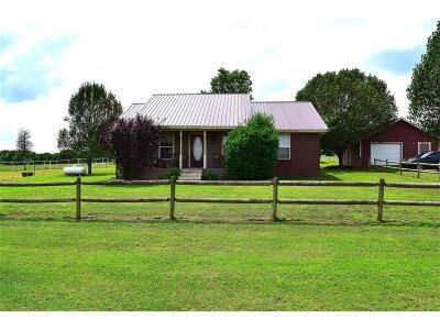 Muldrow Single Family Home For Sale: 472890 E 1070 RD