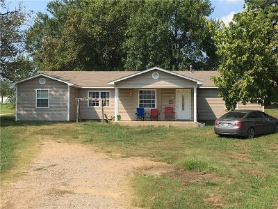 Muldrow OK Single Family Home For Sale: $119,000