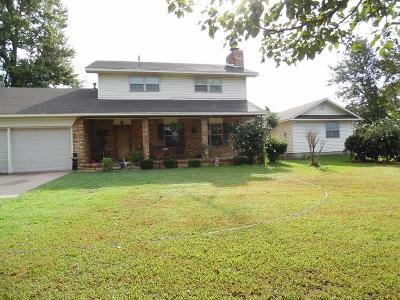 Sallisaw Single Family Home For Sale: 455204 1080 RD