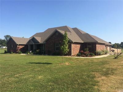 Muldrow OK Single Family Home For Sale: $269,900