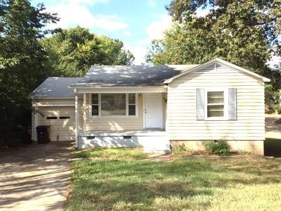 Fort Smith AR Single Family Home For Sale: $57,500