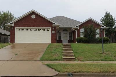 Van Buren Single Family Home For Sale: 312 Northridge DR
