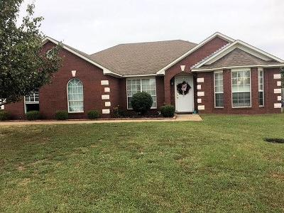 Greenwood Single Family Home For Sale: 1800 Appaloosa DR