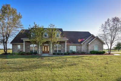 Muldrow Single Family Home For Sale: 473690 E 1130 RD